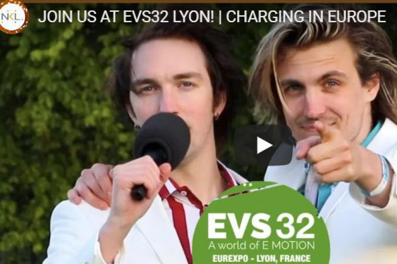 Vlogging to world's largest EV event