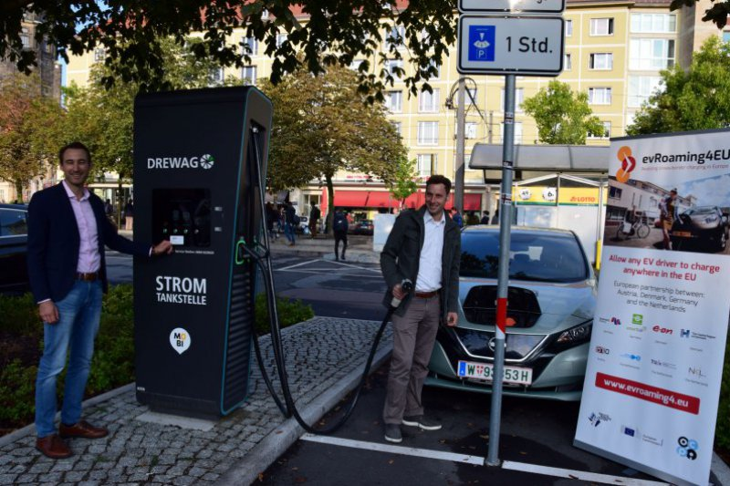 Field-test: Vienna to Dresden with EV